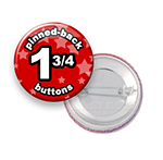 Custom Buttons 1-3/4 inch Round