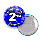Custom Buttons 2-1/4 inch Round