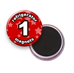 Custom Refrigerator Magnets 1 inch Round
