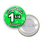 Custom Buttons 1-1/4 inch Round