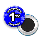 Custom Refrigerator Magnets 1-1/2 inch Round