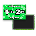 Custom Refrigerator Magnets 1-3/4x2-3/4 inch Rectangle