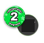 Custom Refrigerator Magnets 2 inch Round