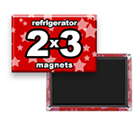 Custom Refrigerator Magnets 2x3 inch Rectangle