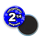 Custom Refrigerator Magnets 2-1/4 inch Round