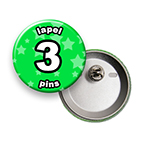 Custom Lapel Pin 3 inch Round