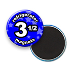 Custom Refrigerator Magnets 3-1/2 inch Round