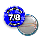 Custom Buttons 7/8 inch Round