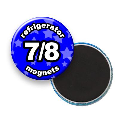Custom Refrigerator Magnets 7/8 inch round