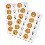 Covid Vaccine Sticker Sheet