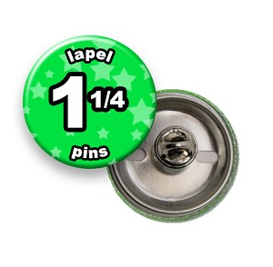 Custom Lapel Pin 1-1/4 inch Round