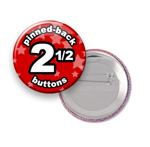 Custom Buttons 2.5 inch Round